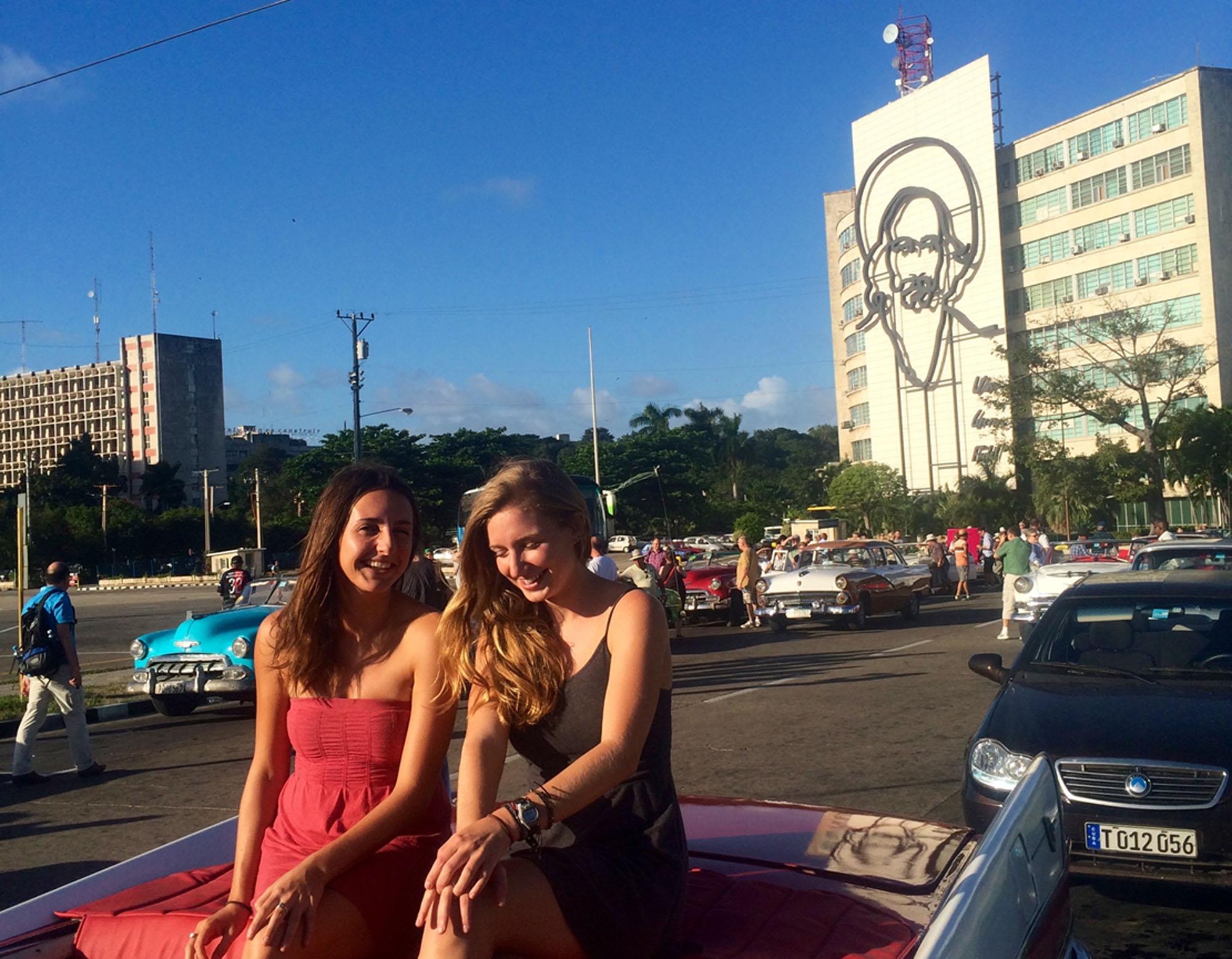 Hannah Bottum in Cuba