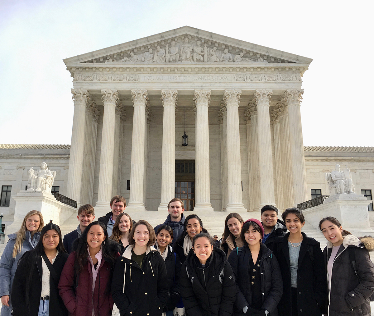 CMC interns visit the Supreme Court
