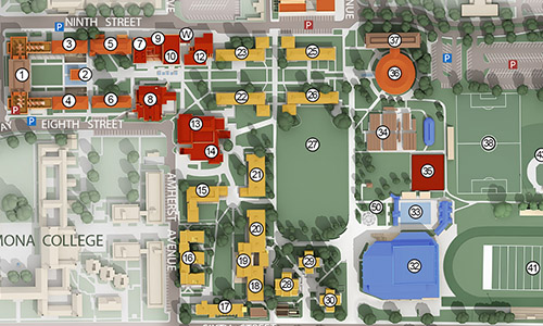 CMC Campus Maps | Claremont McKenna College
