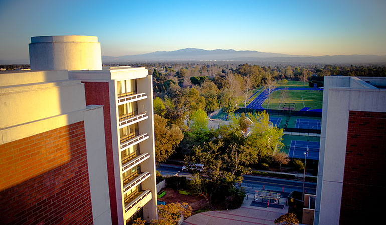 The Towers and Tennis Courts