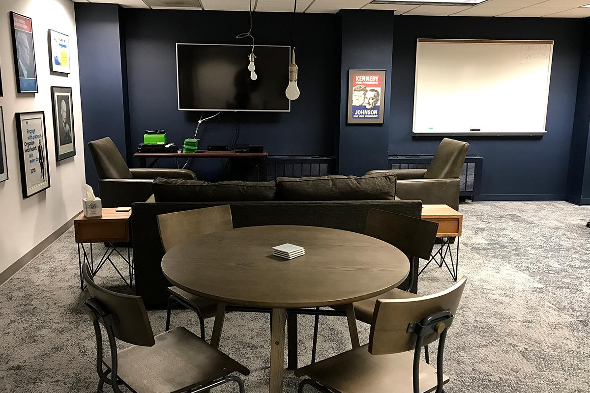 Room in the CMC Washington Program office