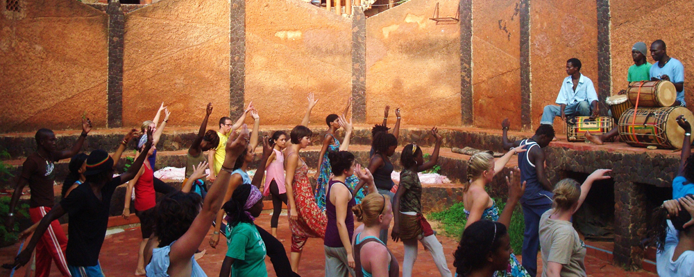 Justine Dodgen '12, Dance Class, CIEE Dakar, Senegal
