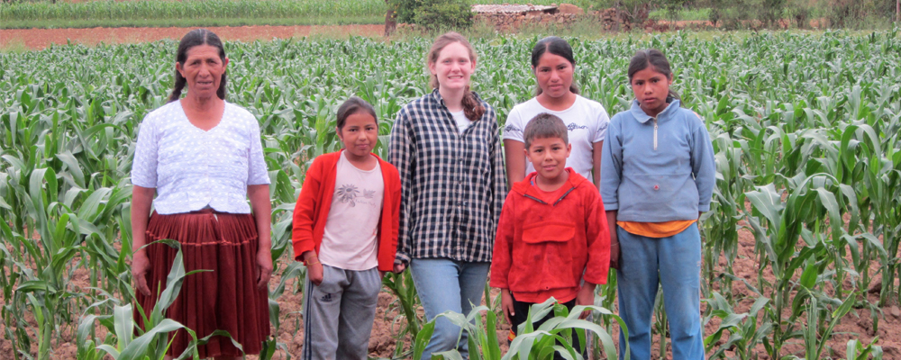 Catherine Raney, '13, Host Family, SIT Bolivia