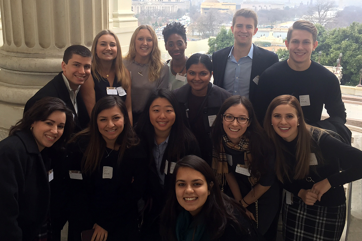 CMC Washington Program students