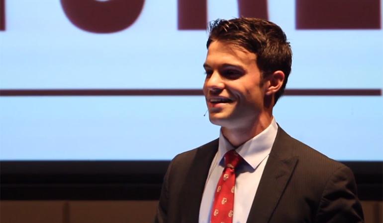 Gavin Landgraf '14 wins Mitchell Award