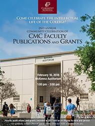 CMC Faculty Publications and Grants