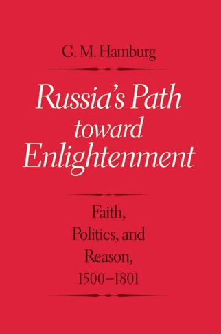 Russia's Path toward Enlightenment with Author Professor Gary Hamburg