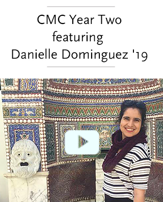 Video: Danielle Dominguez, a member of the CMC Class of 2019