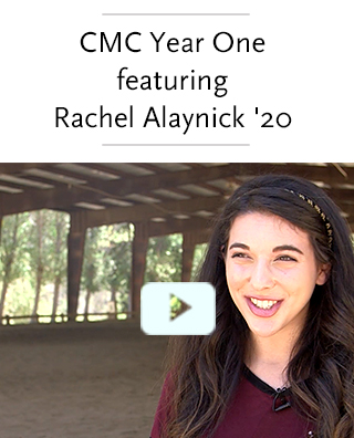 Video: CMC Year One featuring Rachel Alaynick, class of 2020