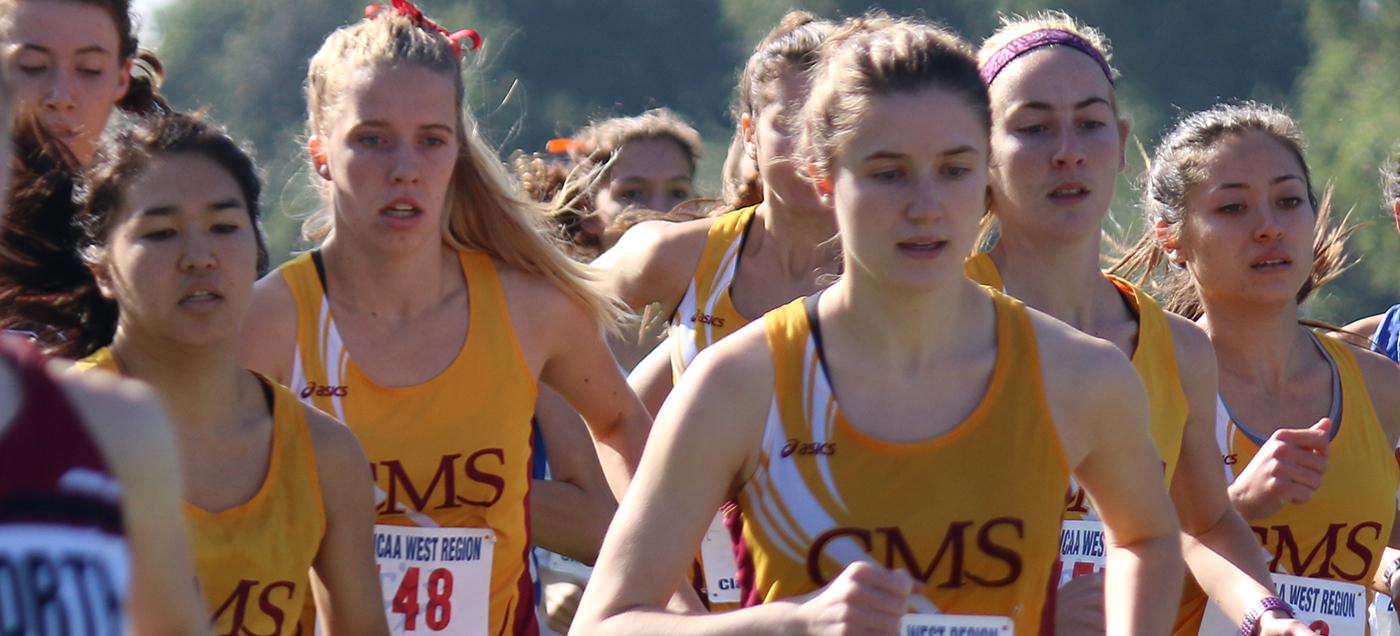 CMC women's cross country team