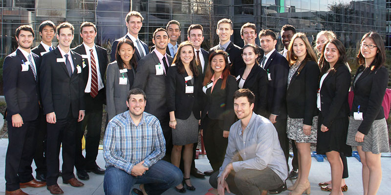 ITAB 2015 Students Outside of Google