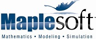 The Maplesoft logo