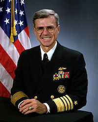 Photograph of Admiral William Owens