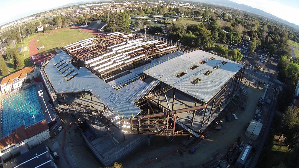 Roberts Pavillion Construction