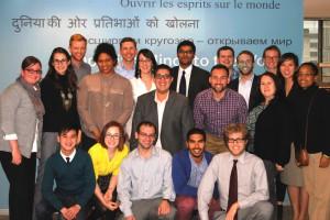 Fulbright scholars 2014