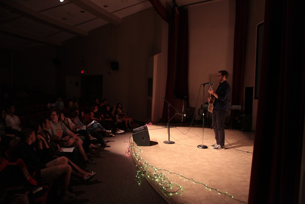 CMC talent show guitar solo