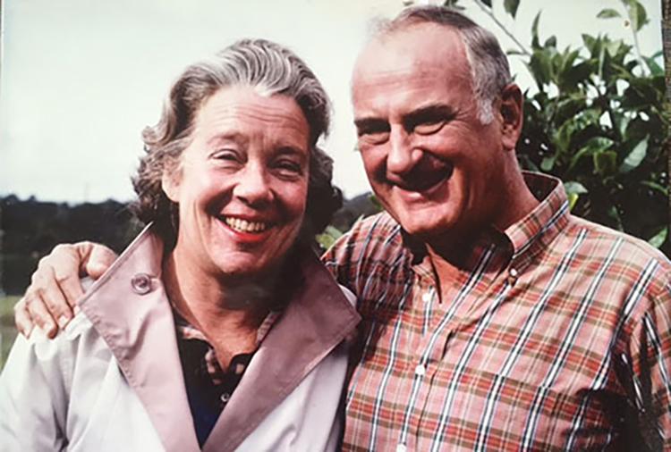 Mary Pritzlaff and husband John C. Pritzlaff Jr.