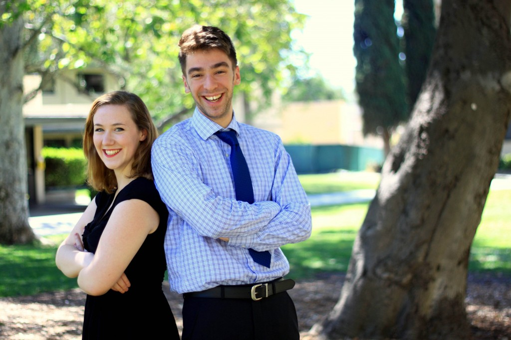 Athenaeum Fellows Shannon Miller and Dante Toppo