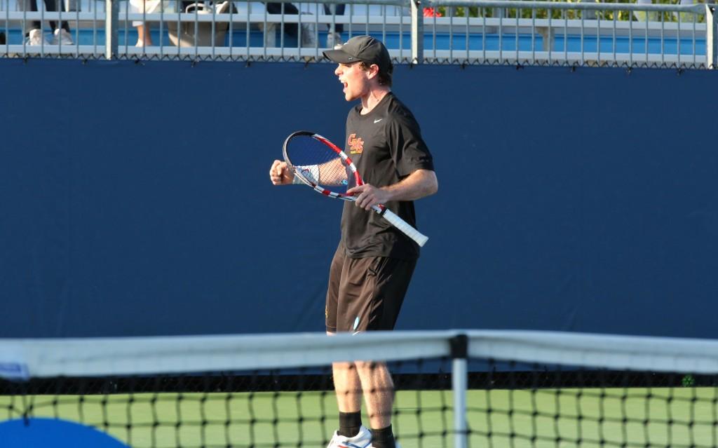 Men's Tennis, CMS, Stags