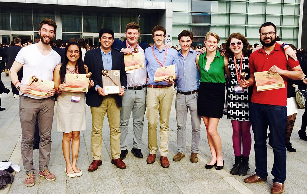 CMC Model U.N. team