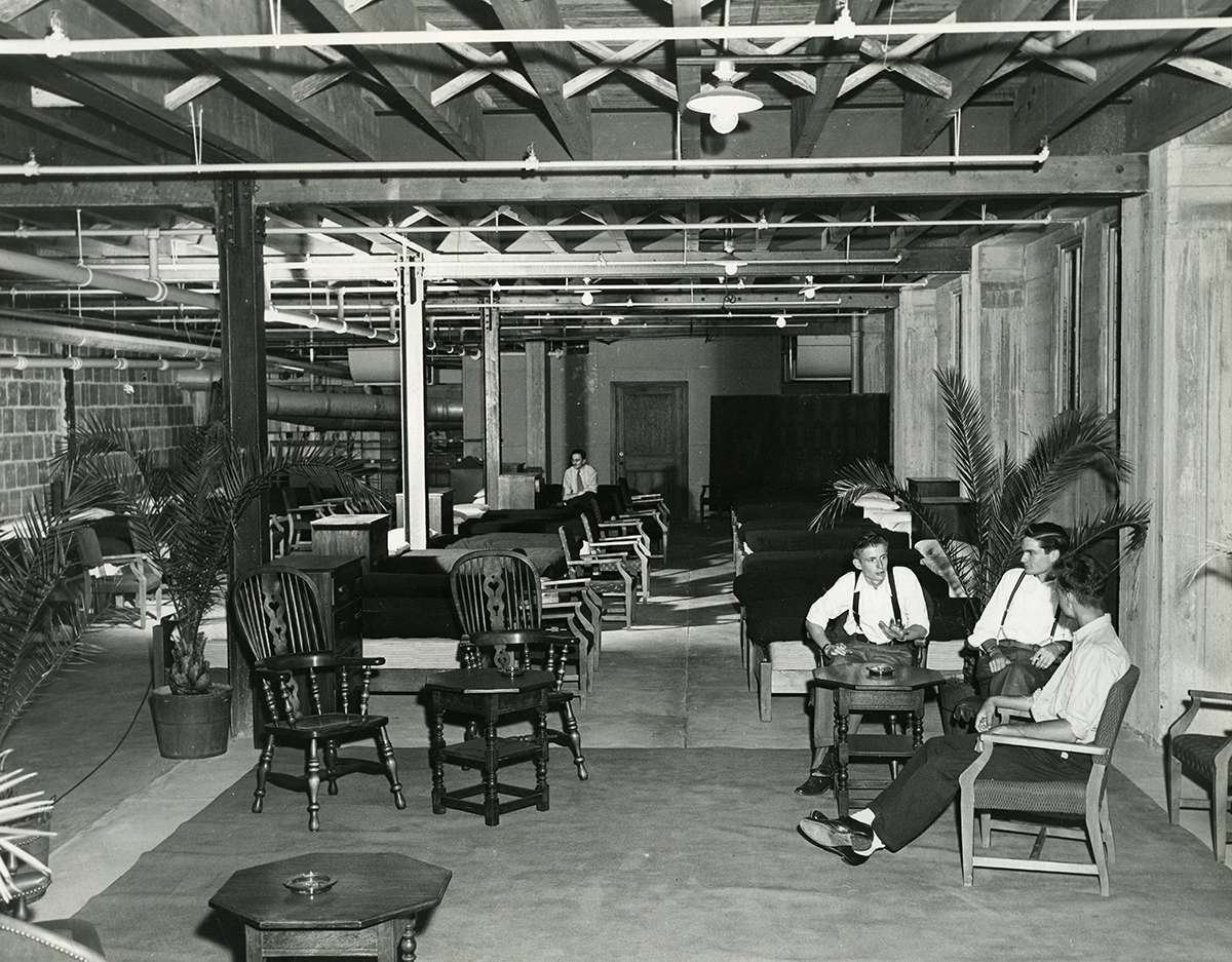 Early Coconut Grove interior