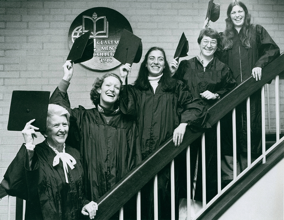 CMC's first female graduates