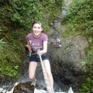 Tamar Kaplan '14 in South America