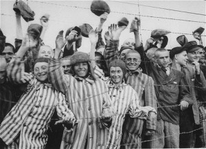Photo of Dachau liberation