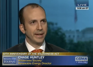 Chase Huntley '98 on C-SPAN