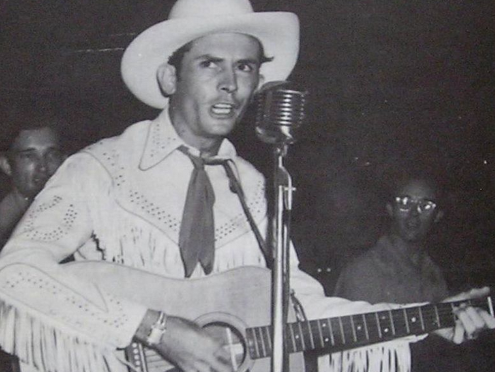 LOST RECORDINGS: Hank Williams in 1951.