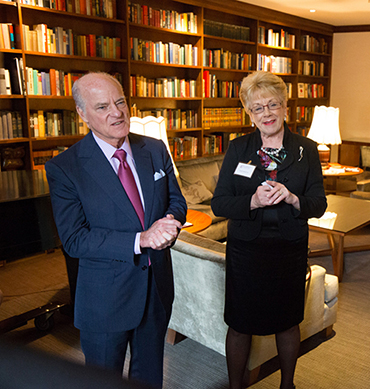 Sarah Smith Orr and Henry Kravis