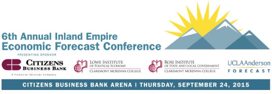 6th Annual Inland Empire Economic Forecast Conference