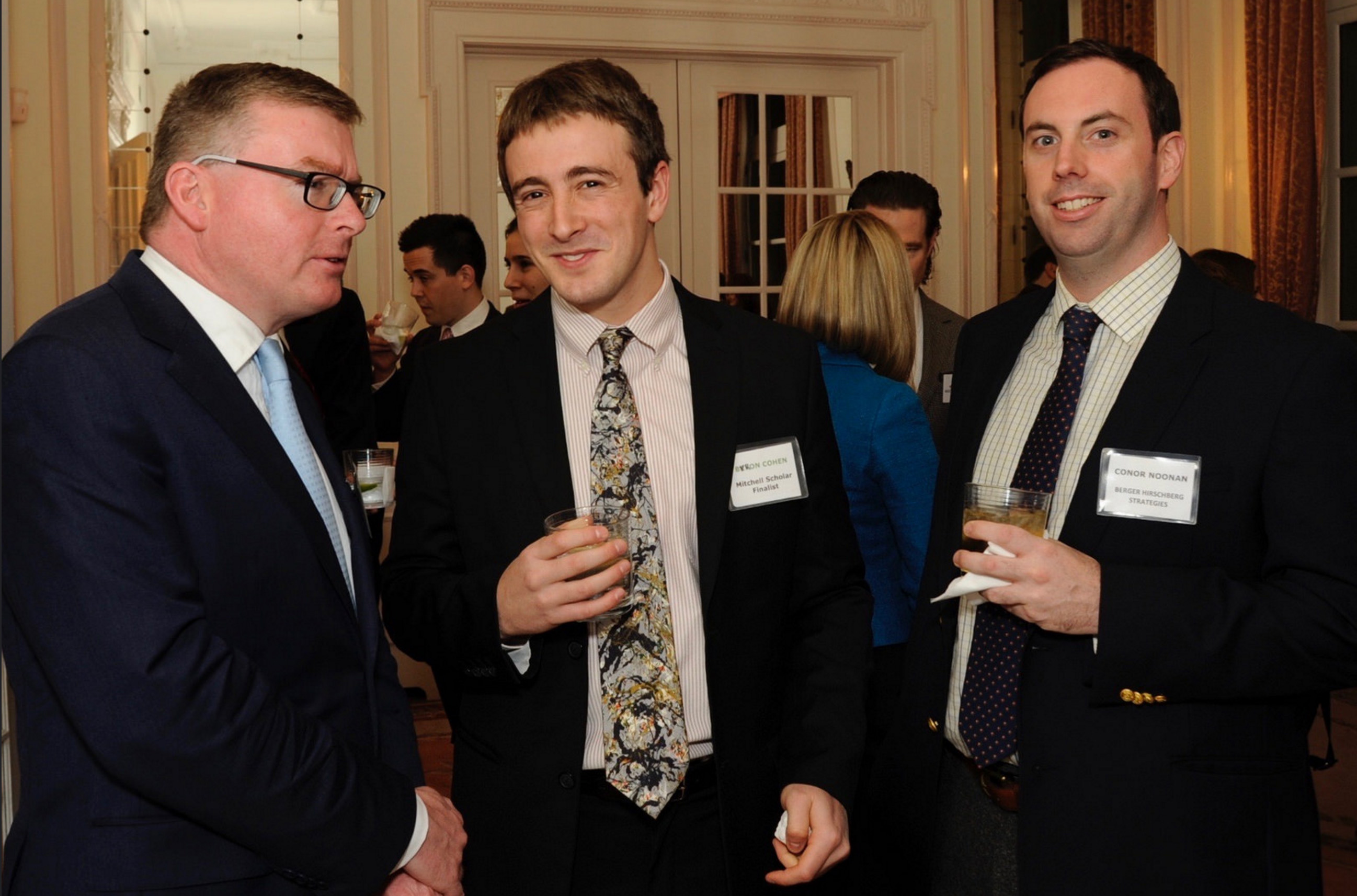 Michael Lonergan, Byron Cohen and Conor Noonan