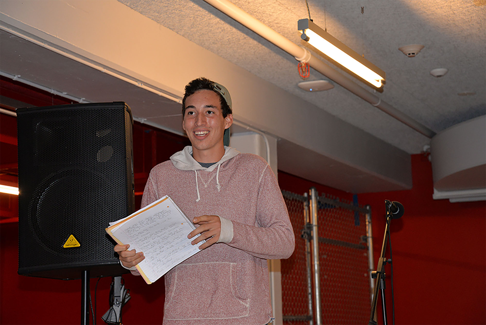 Student Art Showcase will feature open-mic performances
