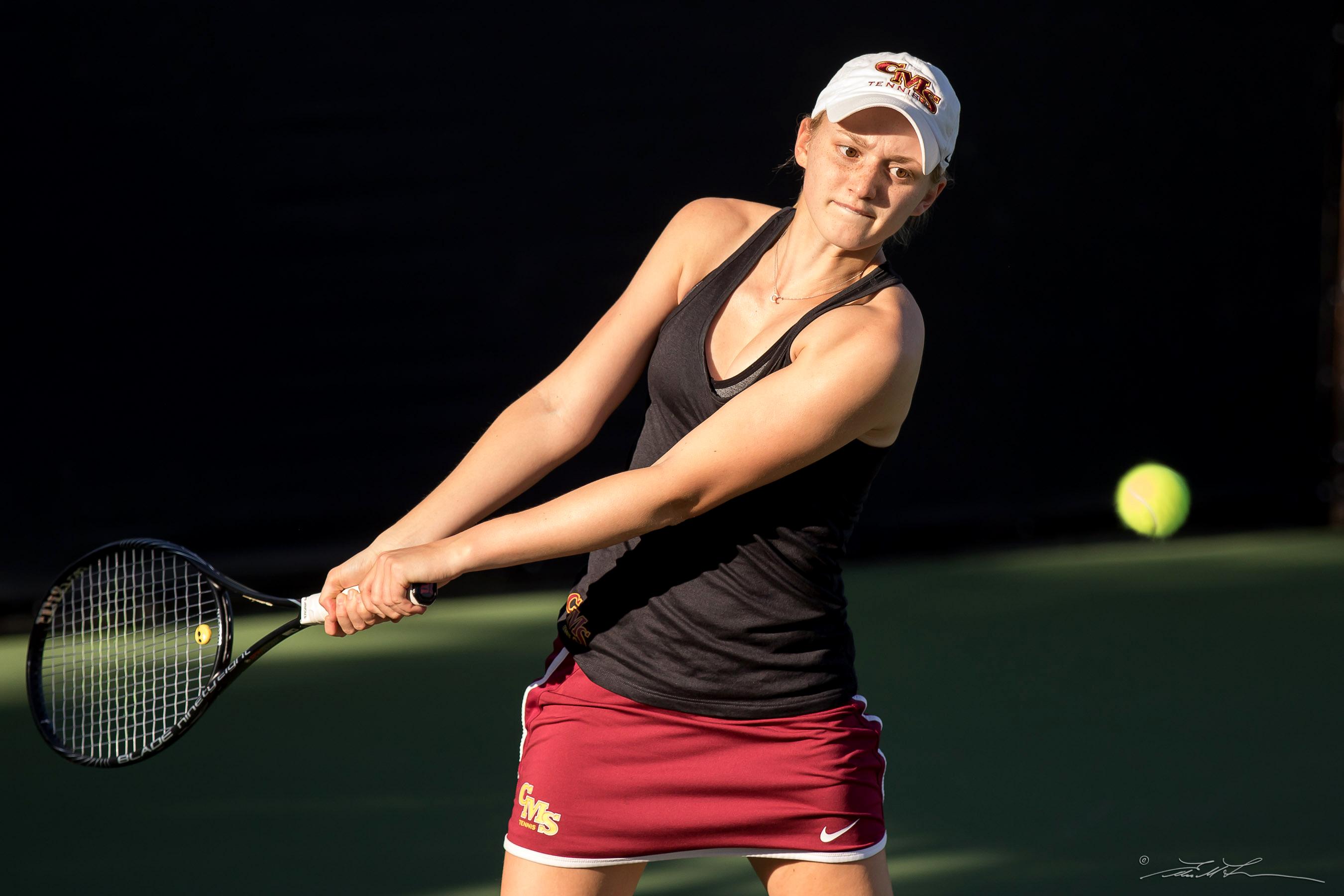 CMS women's tennis match