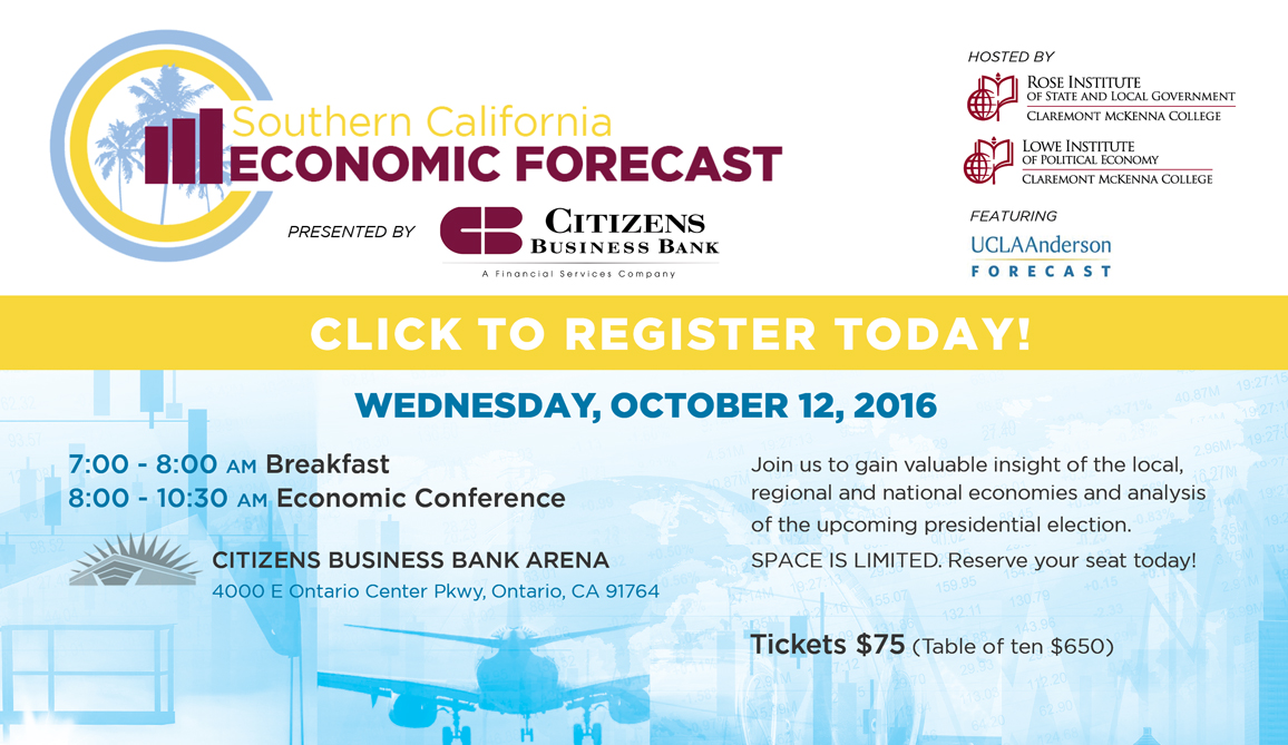 Economic Forecast Conference flyer