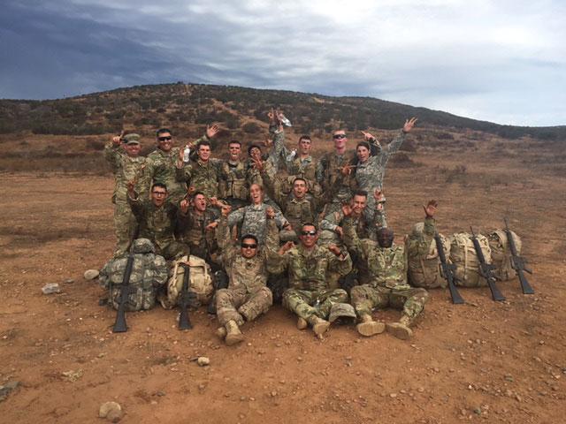 CMC ROTC members