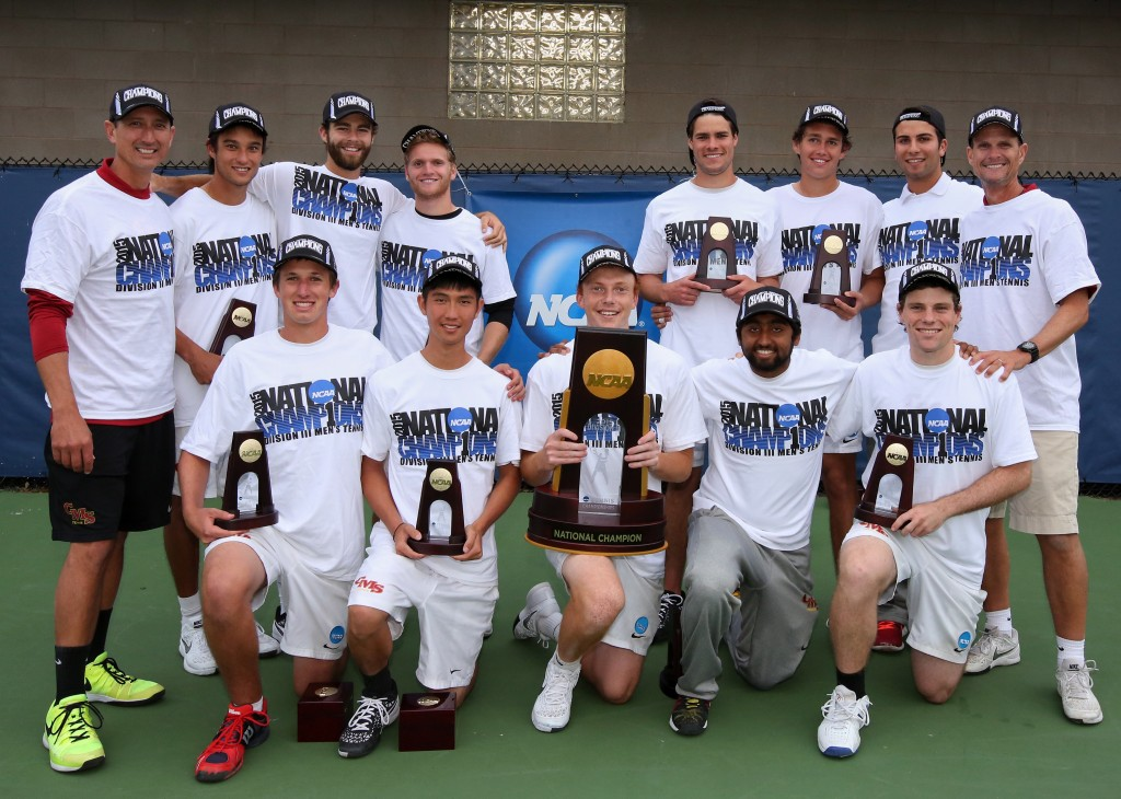 2015 NCAA D-III National Champions - CMS Men's Tennis