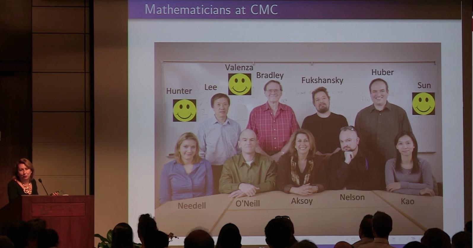 CMC Mathematics faculty