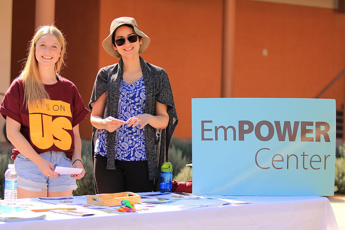 Empower Center workers