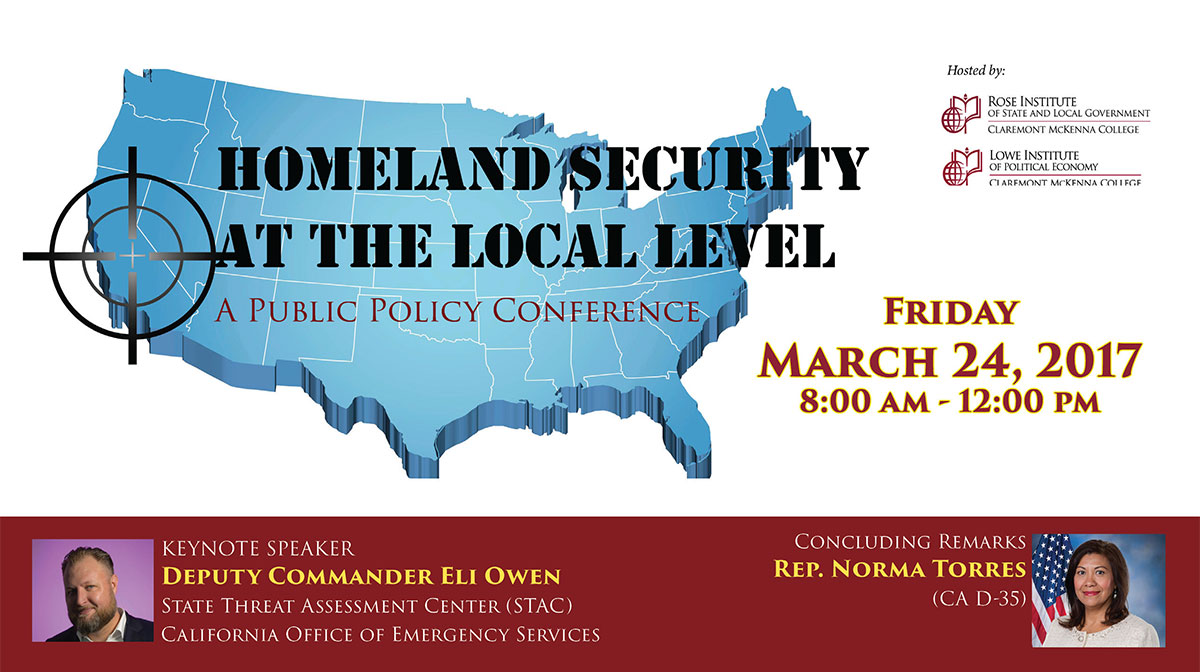 homeland security conference flyer