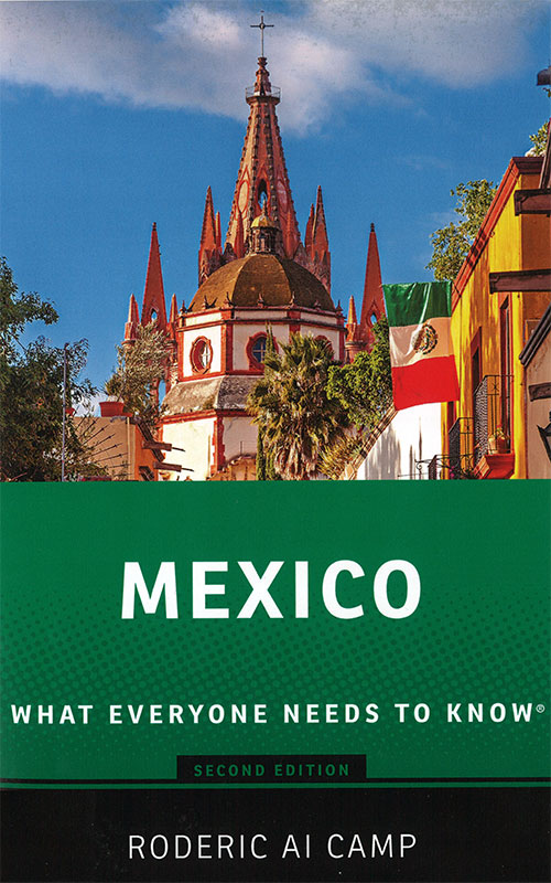 Rod Camp's book Mexico: What everyone needs to know