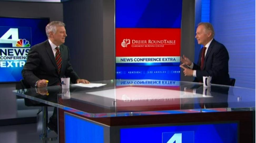 David Dreier talks to Conan Nolan of KNBC
