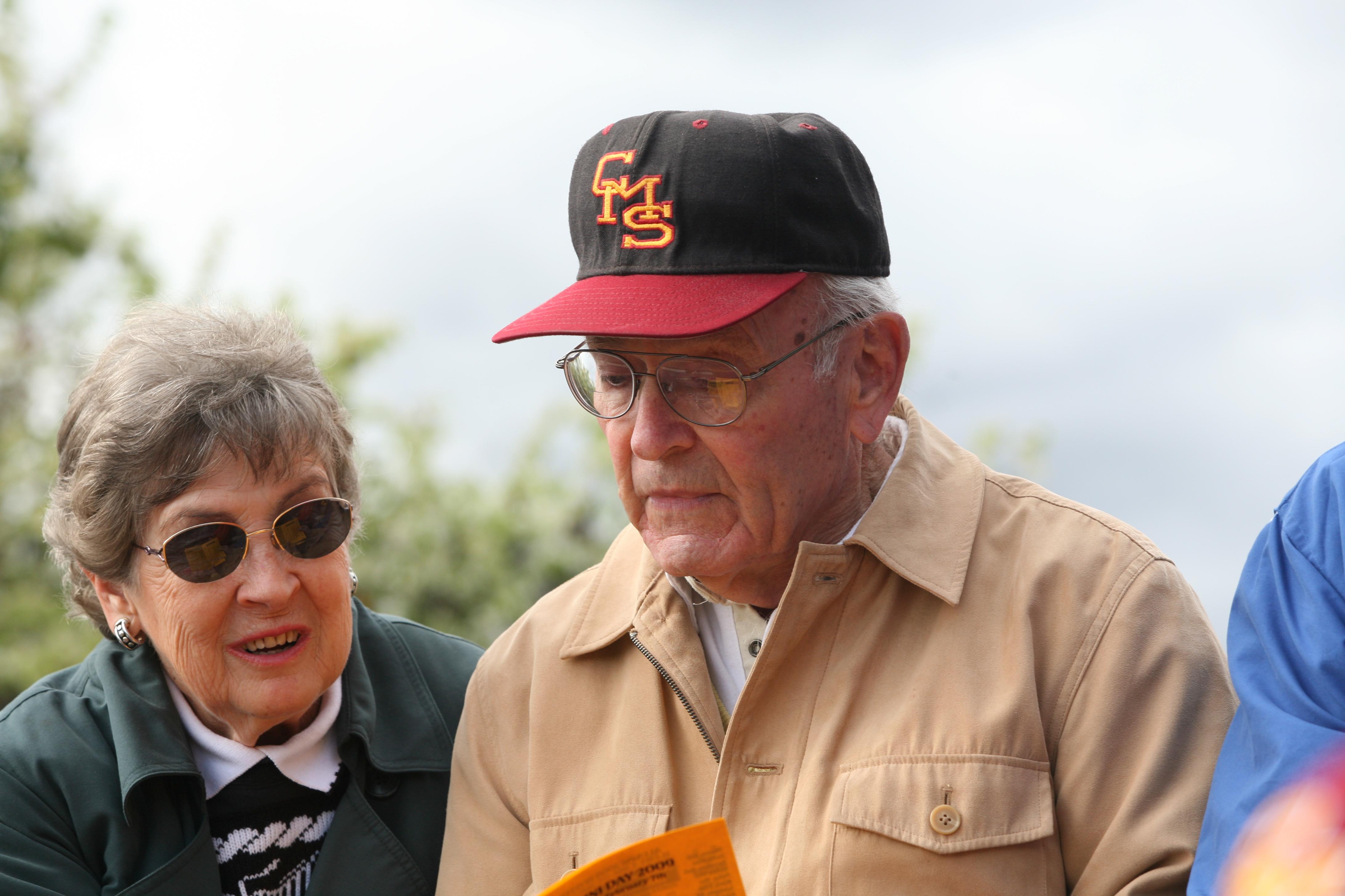 Bill and Nancy Arce P'80