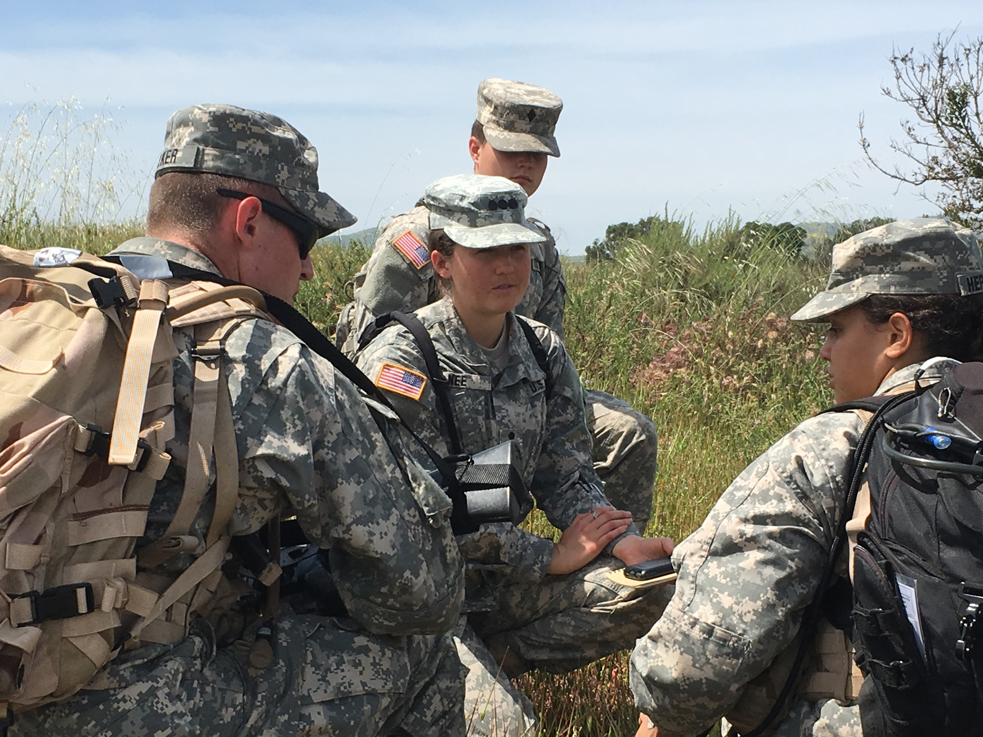 ROTC training takes place at Camp Pendleton