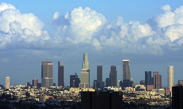 Downtown LA skyline