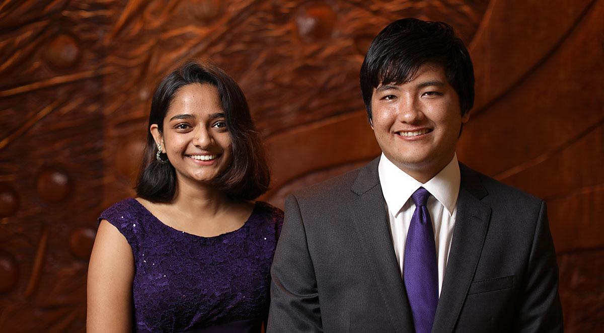 Hamsa Srikanth and Bruno Youn