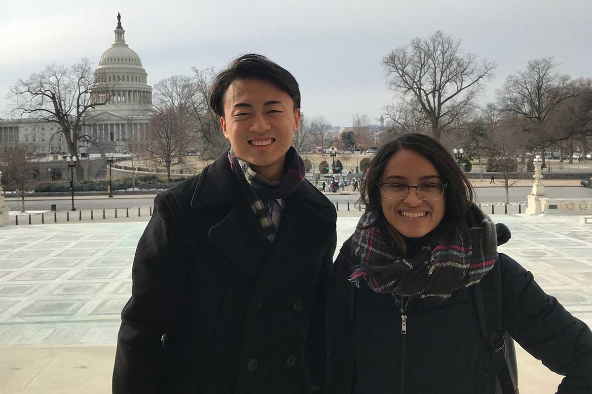 CMC Washington program students