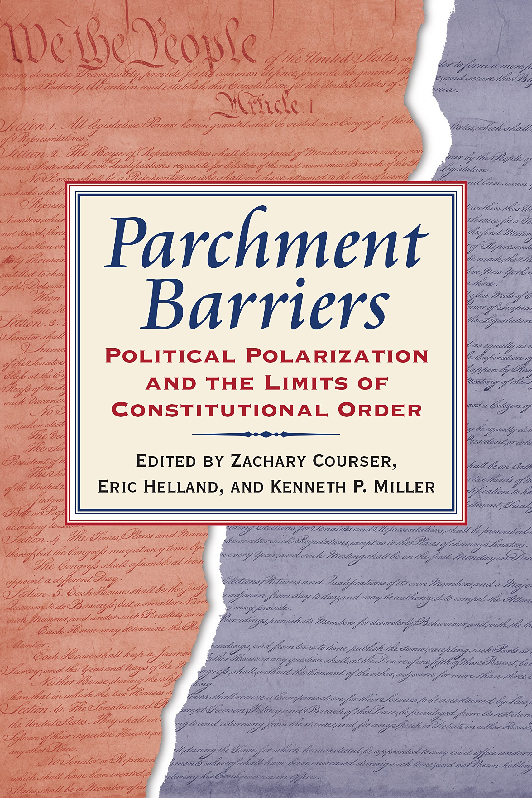 Parchment Barriers book cover