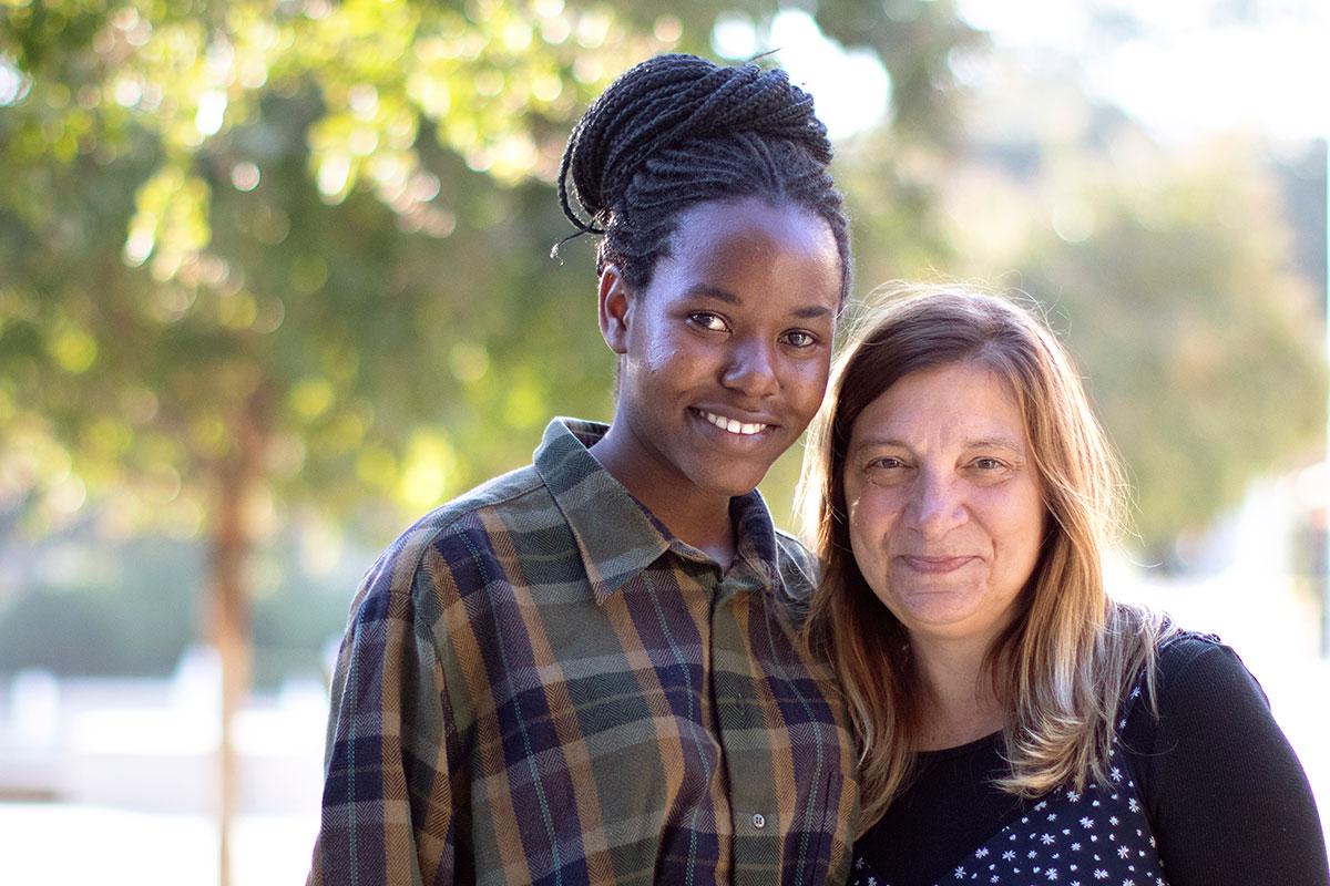 Synaida Maiche and Susan Layden